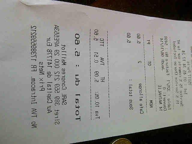 Comment calculer le coût d'un café?