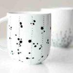 Comment décorer tasses à cafe ?
