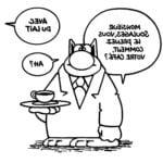 Comment dessiner un chat dans son cafe ?