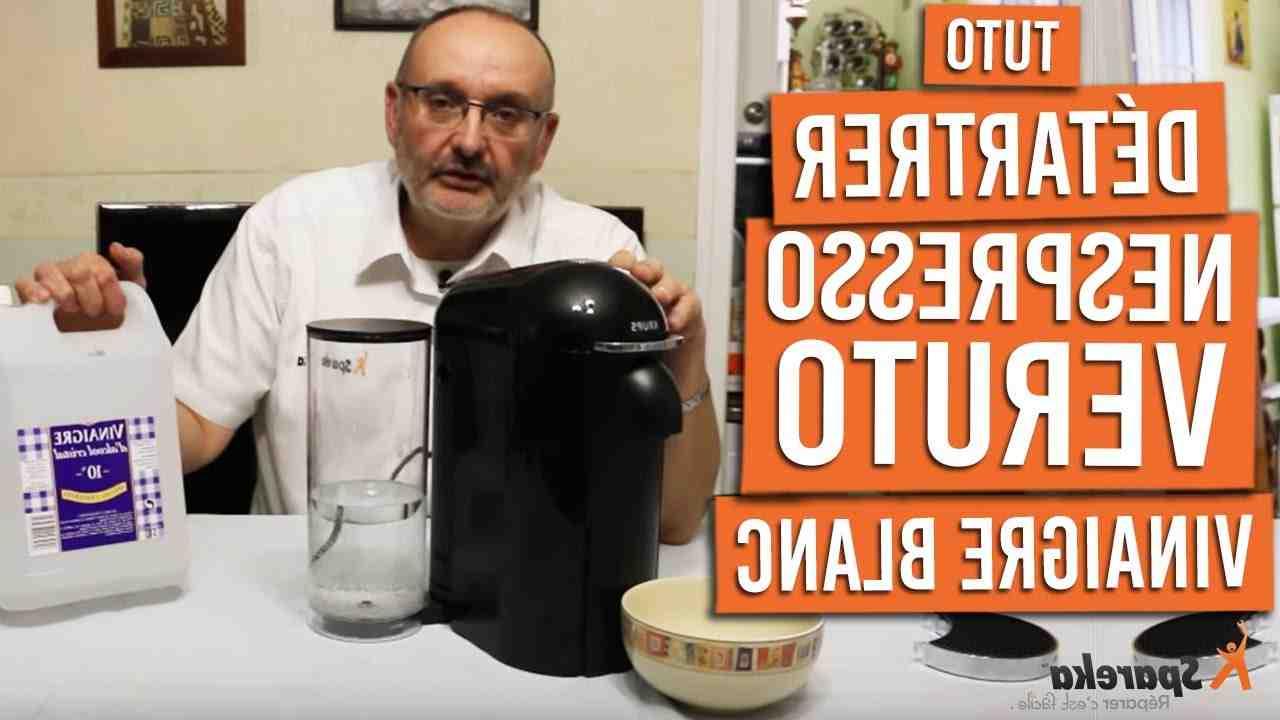 Comment détartrer une machine à café Krups Dolce Gusto?
