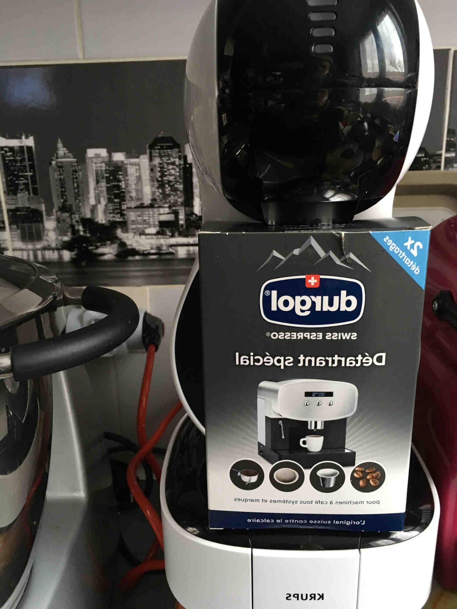 Comment détartrer une machine à café krups ?