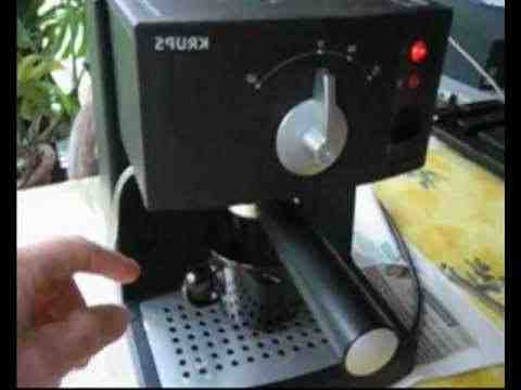 Comment dissoudre une machine à expresso?