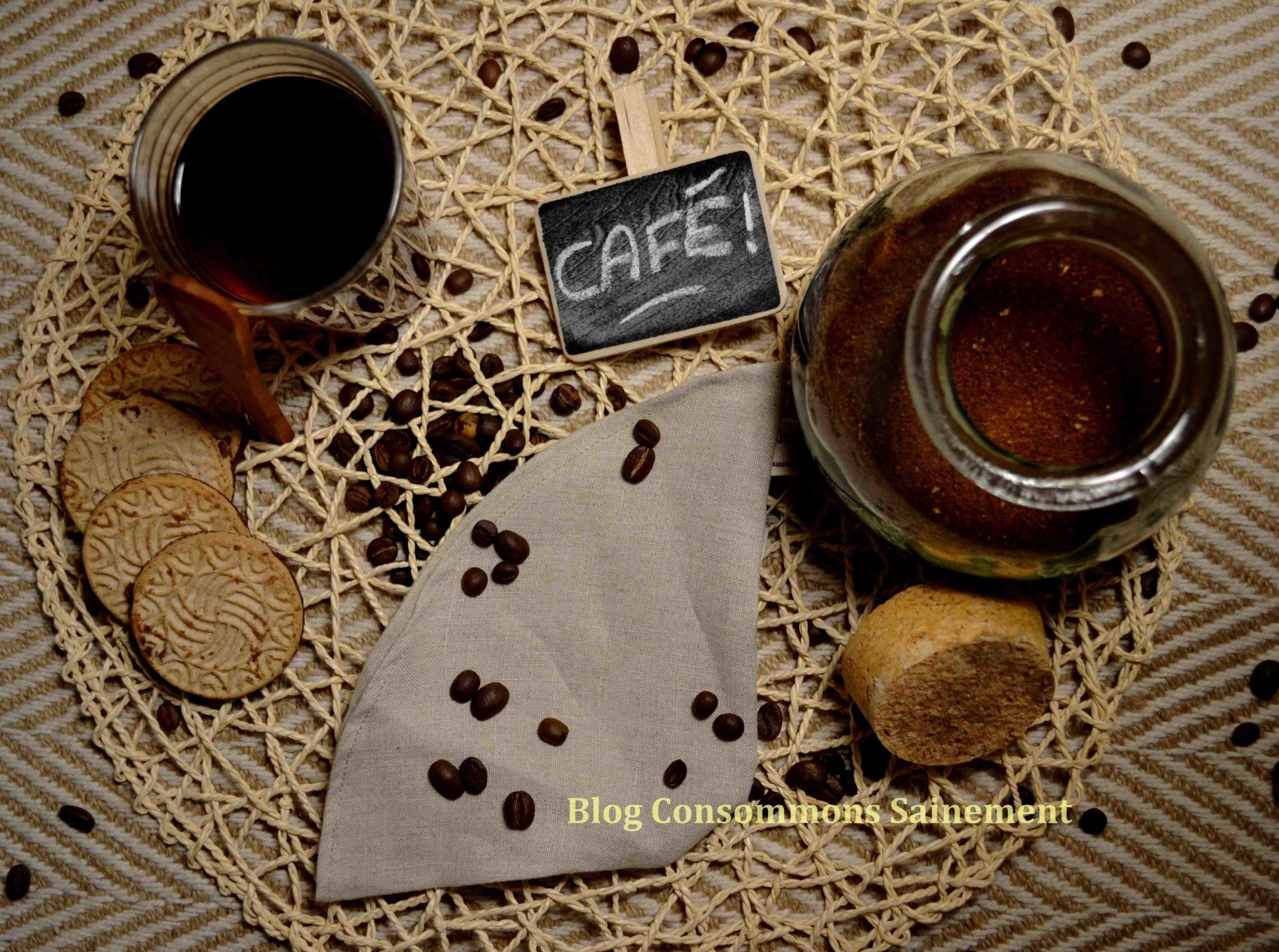 Comment faire un filtre à café dans une machine à café?
