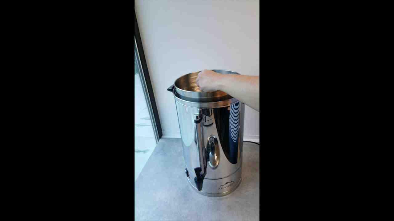 Comment fonctionne une machine à café percolateur?