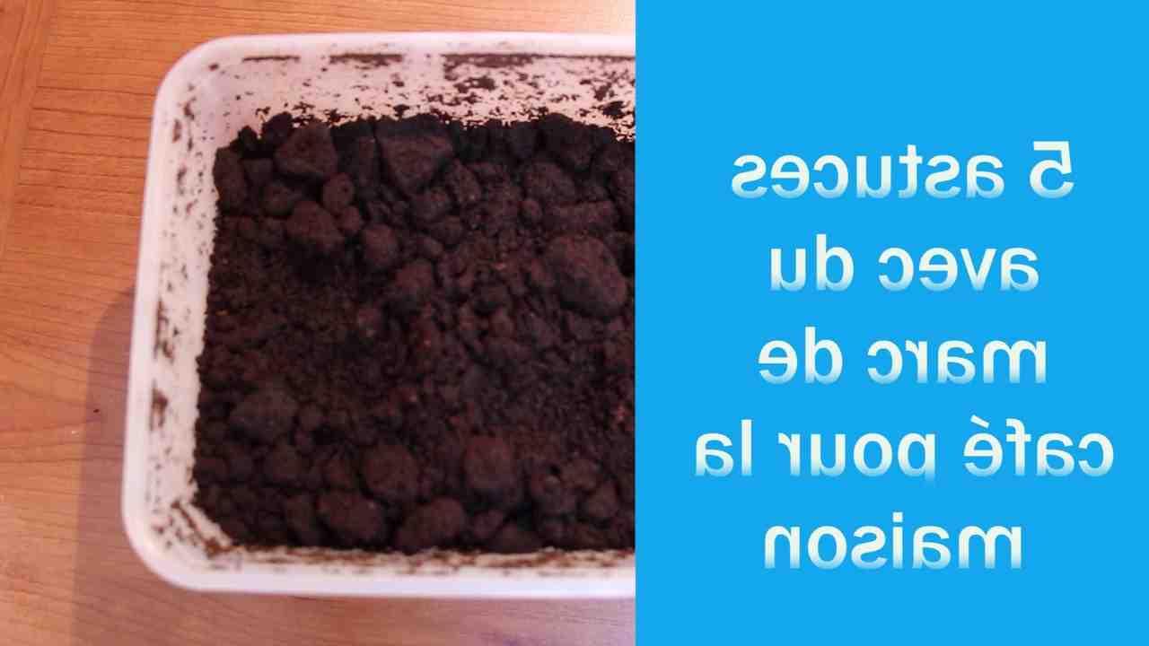Comment laver sa vaisselle avec du marc de café ?