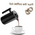 Comment nettoyer un cafe francais de presse ?