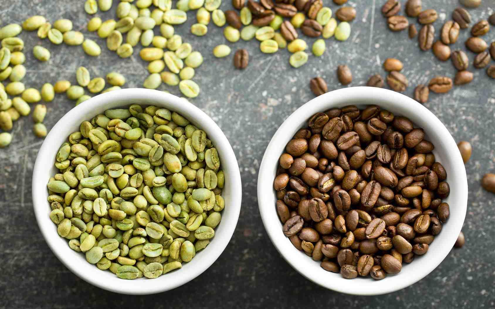 Comment préparer les grains de café verts?