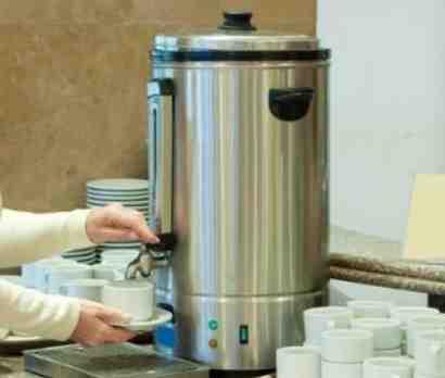 Comment utiliser un percolateur à cafe ?