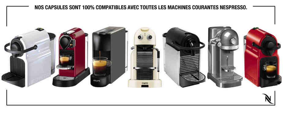 Où acheter des capsules de café Nespresso?
