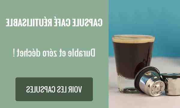 Ou recycler les capsules de café?