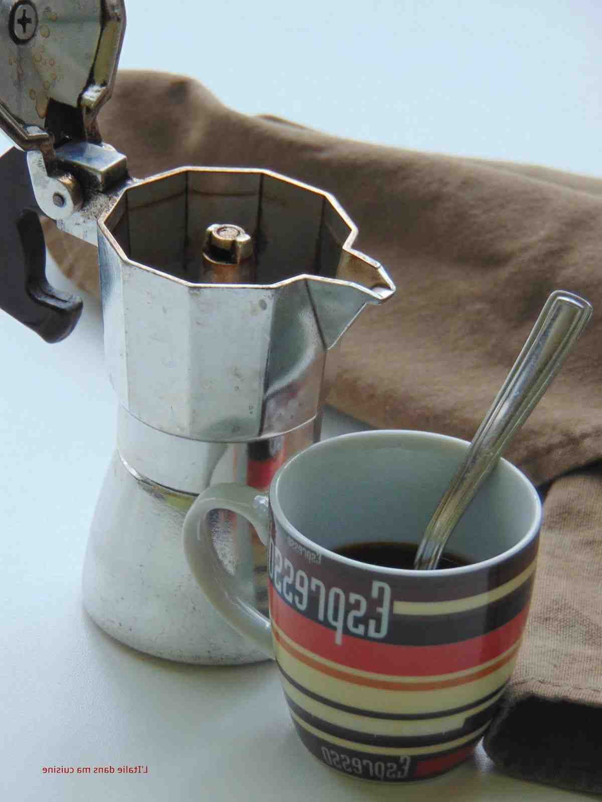 Quel type de café pour une cafetière italienne?