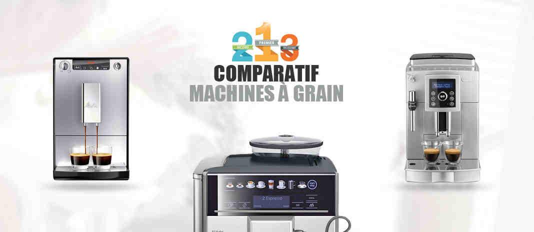Quelle est la meilleure machine à café en grains?