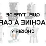 Quels accessoires de machine à cafe choisir ?