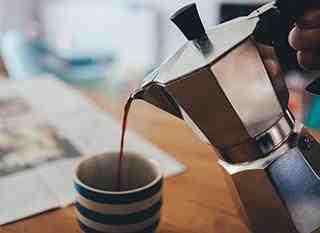 Qu'est-ce que le café léger?