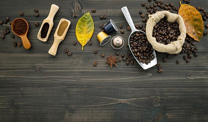 grain de café nespresso pixie