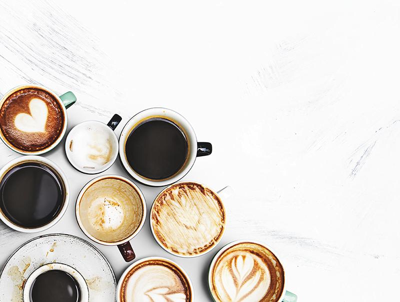 assortiment de cafés pleins de saveurs